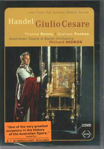 DVD Giulio Cesar