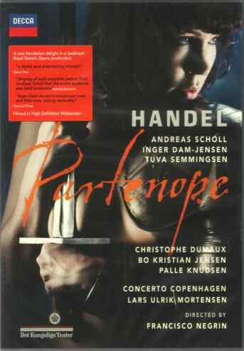 DVD Partenope in Amazon
